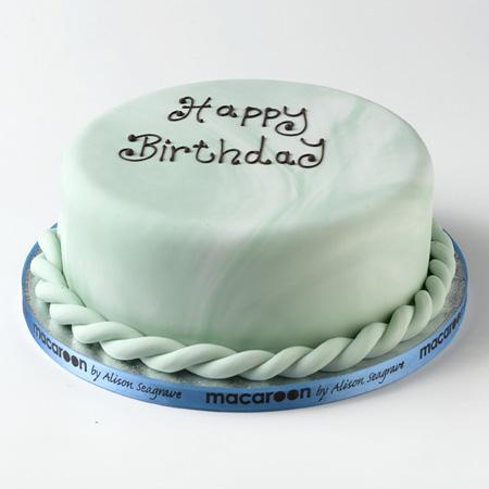 Iced Birthday Cake